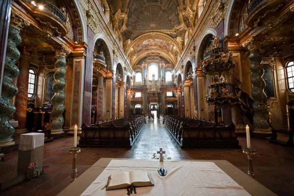 Hochzeit in der Jesuitenkirche
