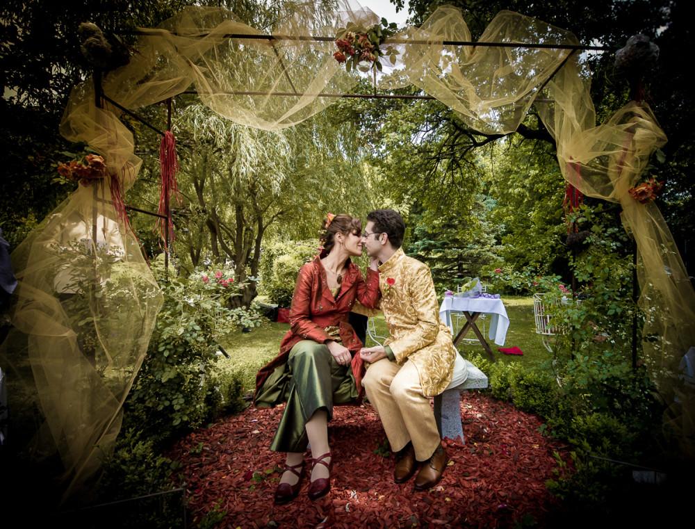 Hochzeit bei den Rosenbauchs