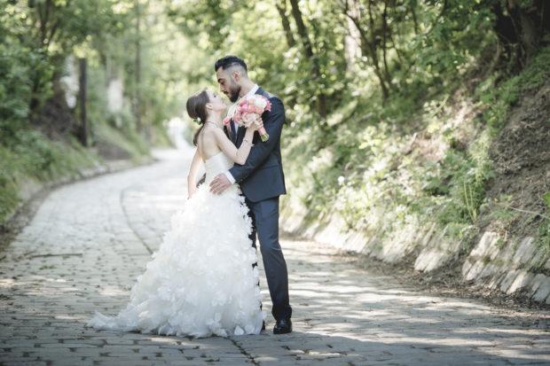 Hochzeit mitten in den Weinbergen