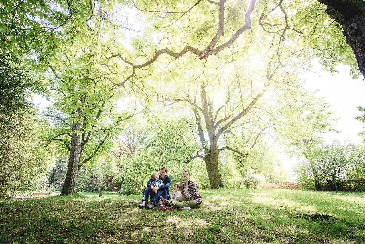 Paar Fotoshooting im Maxing Park Wien