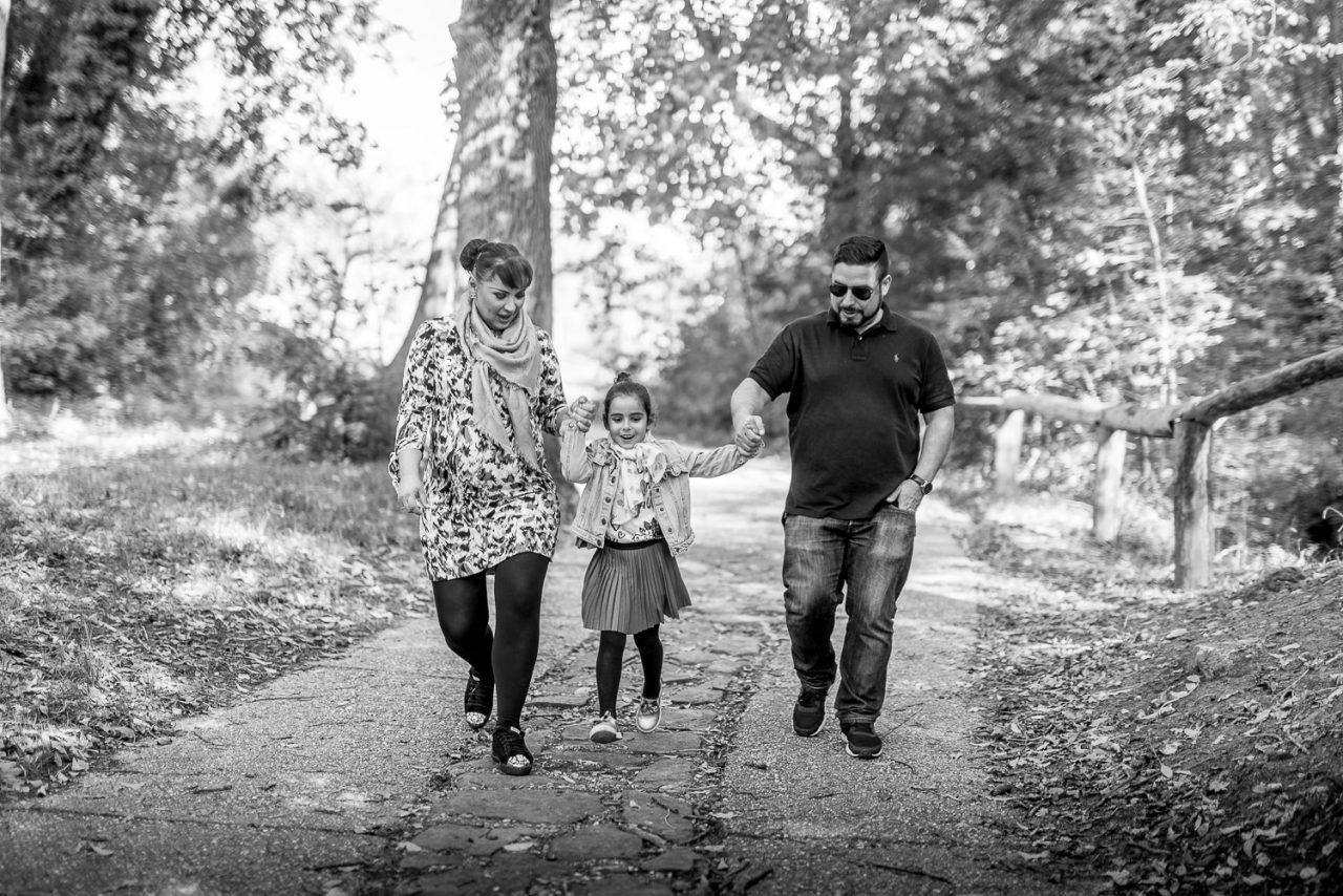 Familienfotos im Dehne Park